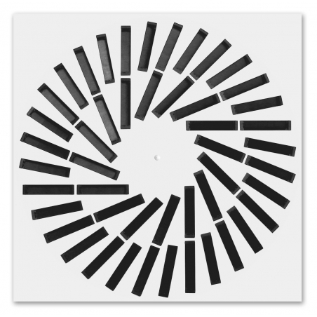 Rectangular Swirl Diffuser - lamellas