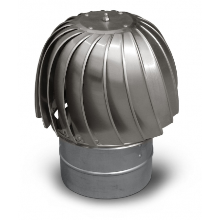 Stainless Steel Rotating Head(Chimeny Root)
