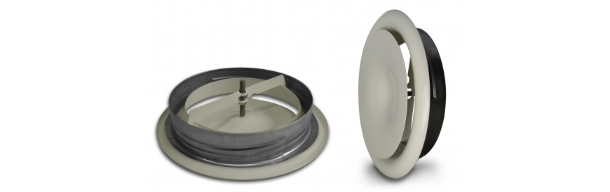 Kovové tanierové ventily