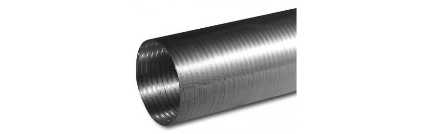 Neizolované flexibilné(flexi) potrubí
