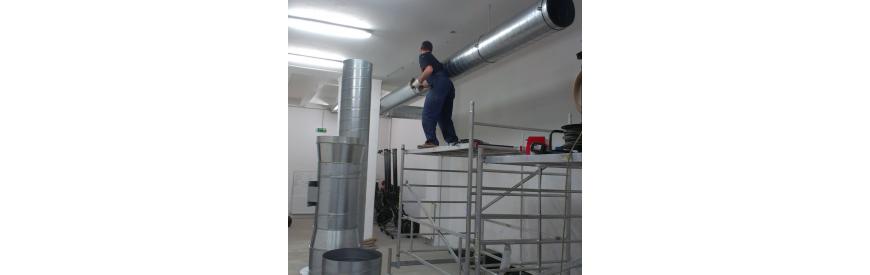 Doplnkové služby vzduchotechniky