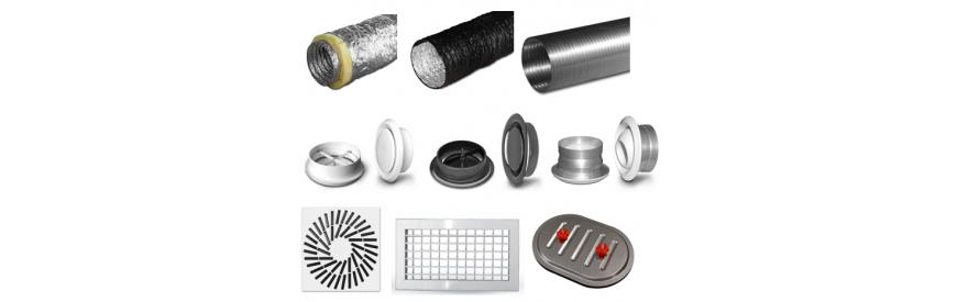 Distribučné prvky VZT potrubia