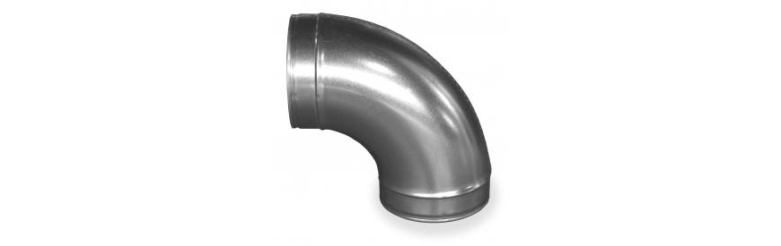 Vzduchotechnické kolená